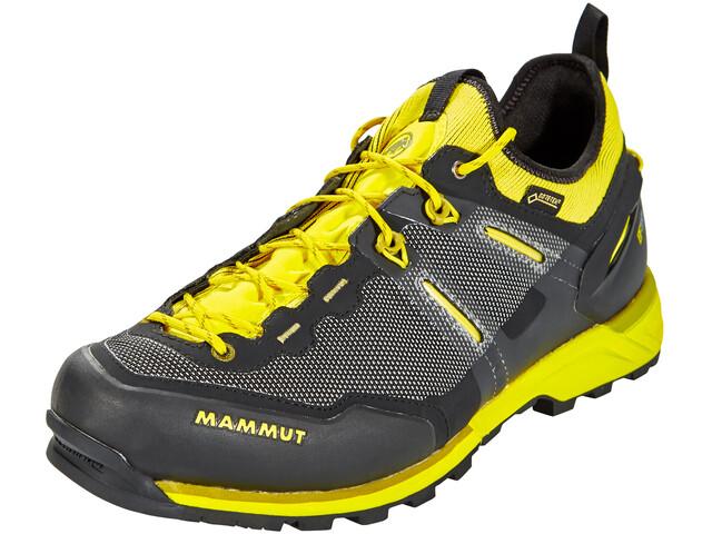 Mammut Alnasca Knit Low GTX Miehet kengät , keltainen/musta